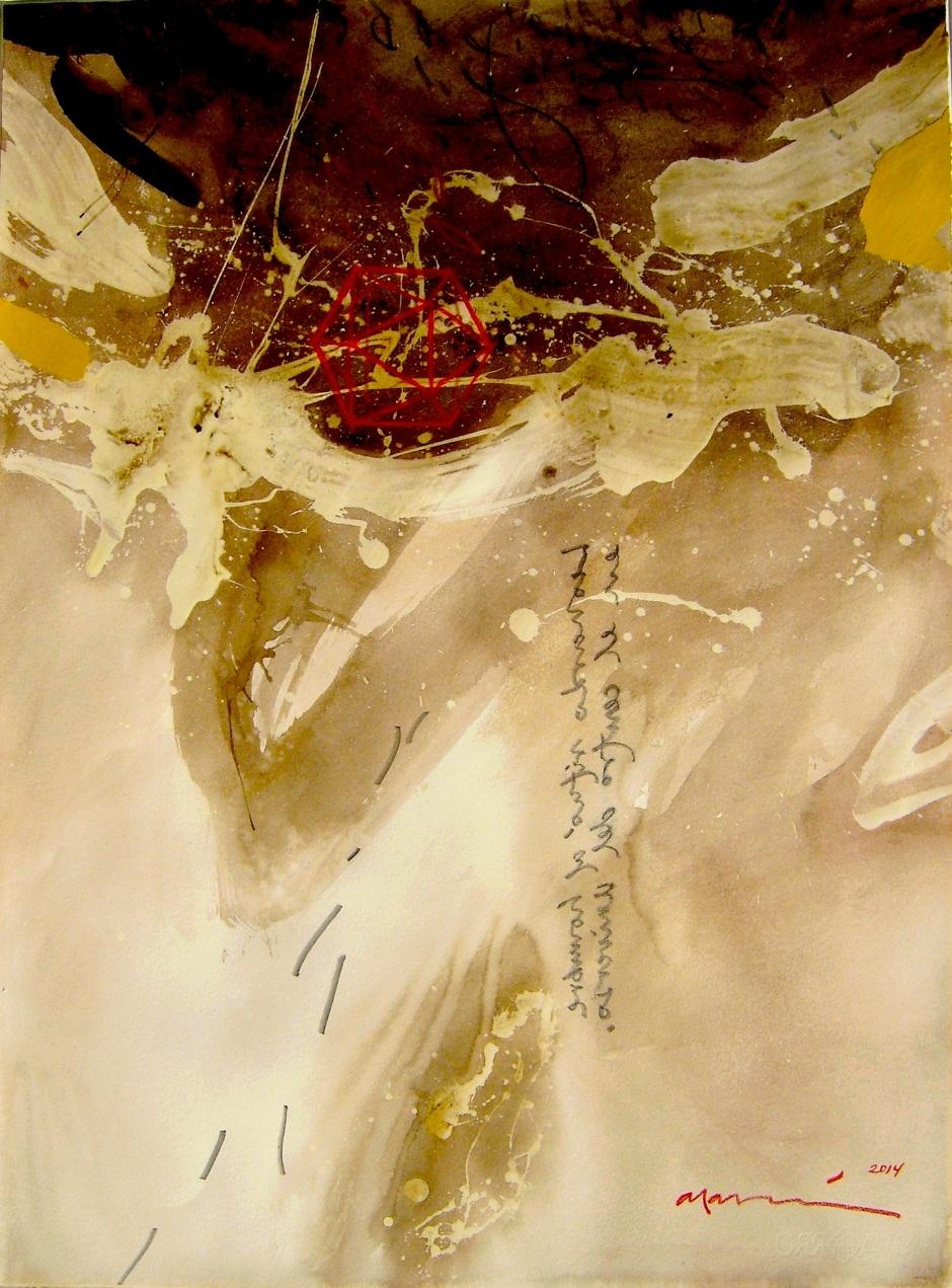 """El profundo conocimiento científico de las proporciones humanas llevó a Leonardo a aprovechar los estudios del matemático renacentista Pacioli y del arquitecto romano Vitruvio para buscar la belleza humana en la proporción. Su ilustración """"El hombre de Vitrivio"""" situó al hombre en el centro del universo, según el ideal renacentista."""