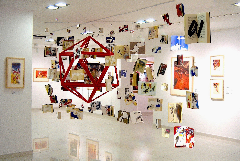 %22UNIVERSIA%22 instalació, Centre d'Art Contemporàni- CAC Mijas. S. ArteItaliaCultura