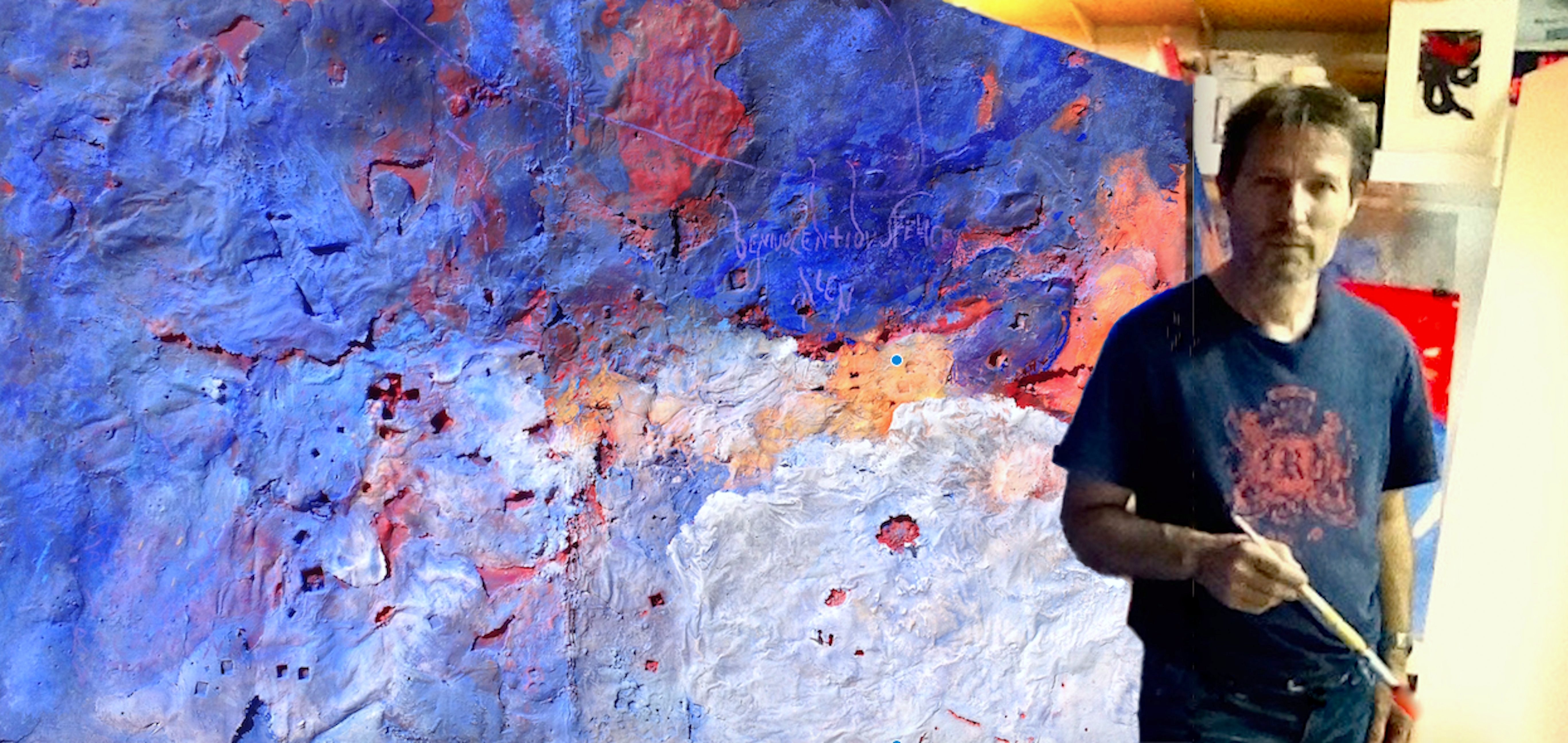 Josep Mª Alarcón, Panorámica en el estudio 2015 .png