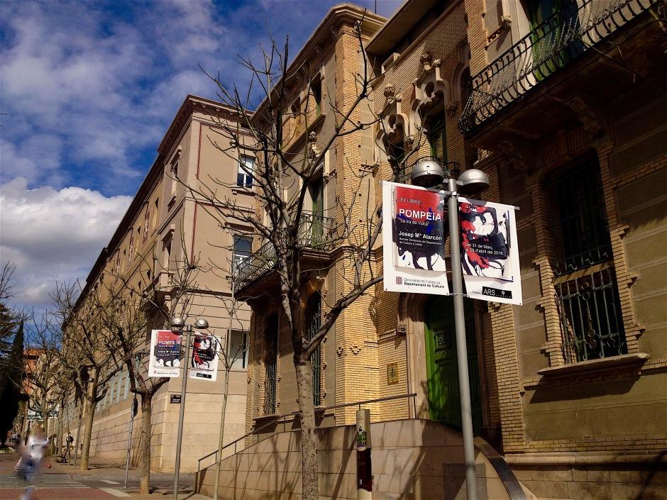 Banderoles al carrer