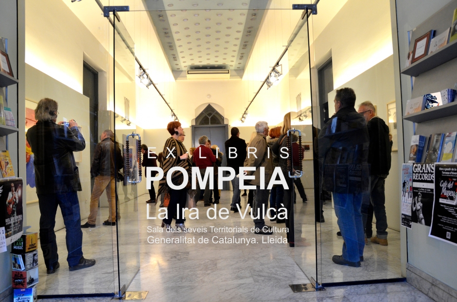 Pompeia %22La Ira de Vulcà%22 portada álbum