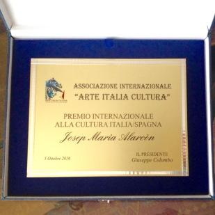 """""""Premio internazionale alla Cultura Italia-Espagna"""""""