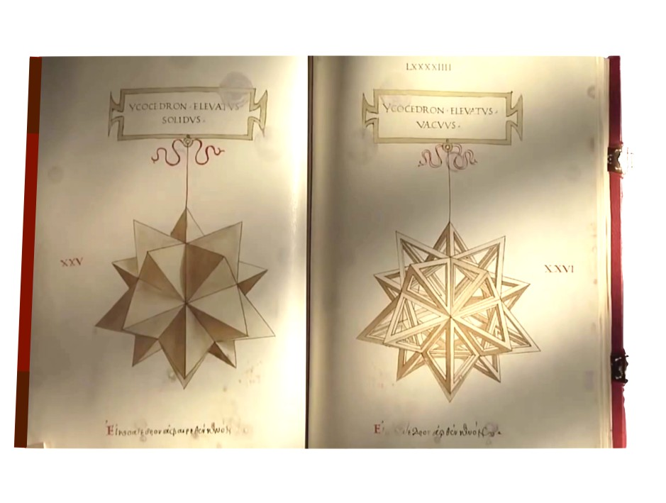 A. De Divina Proportione copia